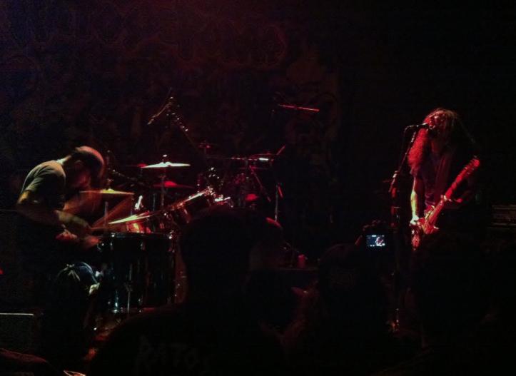 O duo de death metal Test em show no Sesc Pompeia