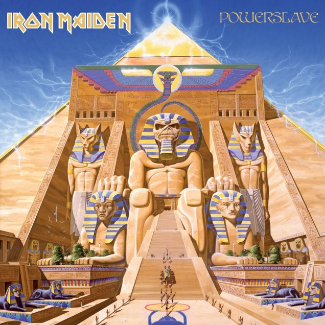 'Powerslave', do Iron Maiden: clássico britânico