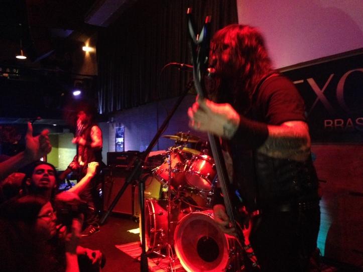 Krisiun em São Bernardo: turnê de Forged in Fury