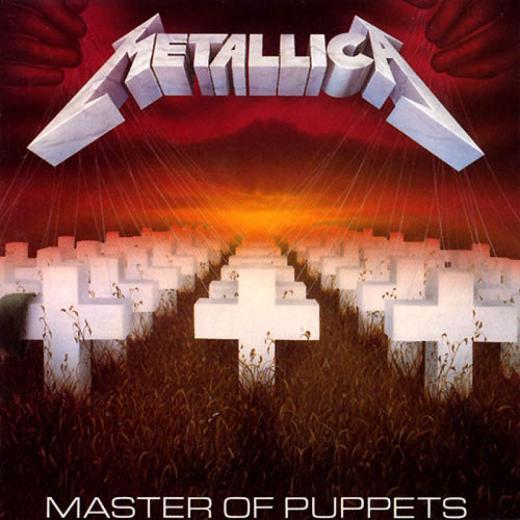 'Master of Puppets', do Metallica, sempre no topo de qualquer lista