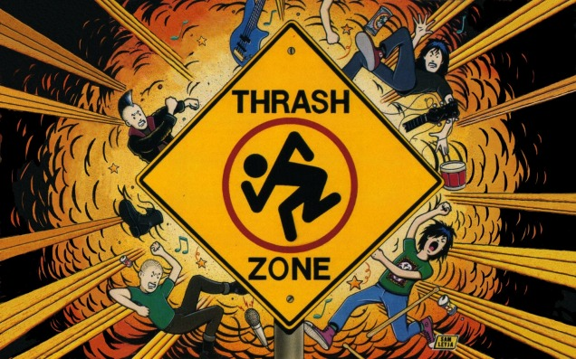 Trash Zone: álbum de 1989