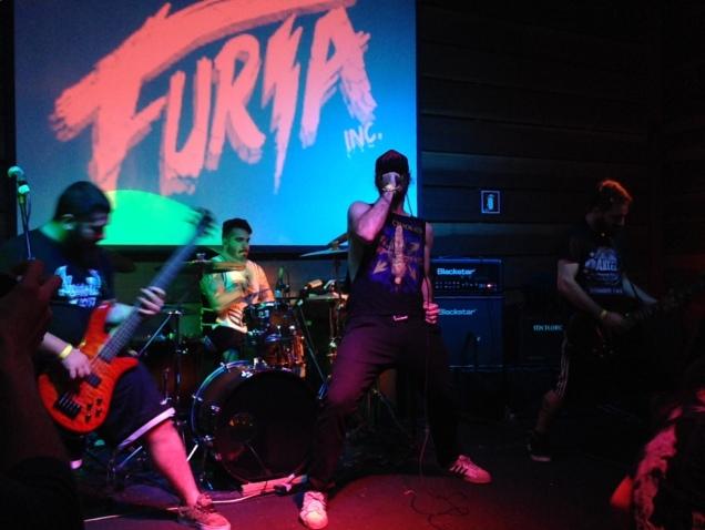 Os caras do Furia Inc: canções do novo álbum, Murder Nature