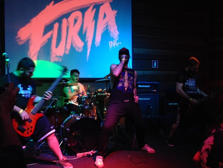 Os caras do Furia Inc: canções do novo álbum, Murder Nature