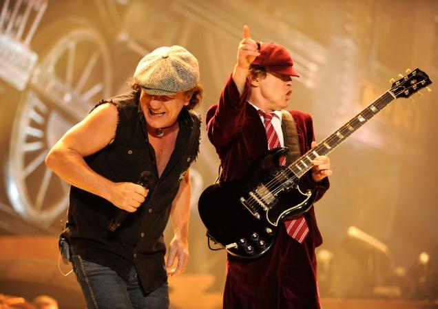 AC/DC: troca-troca nos vocais