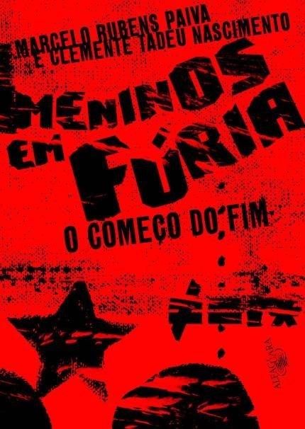"""Capa do livro """"Meninos em Fúria - O Começo do Fim"""""""