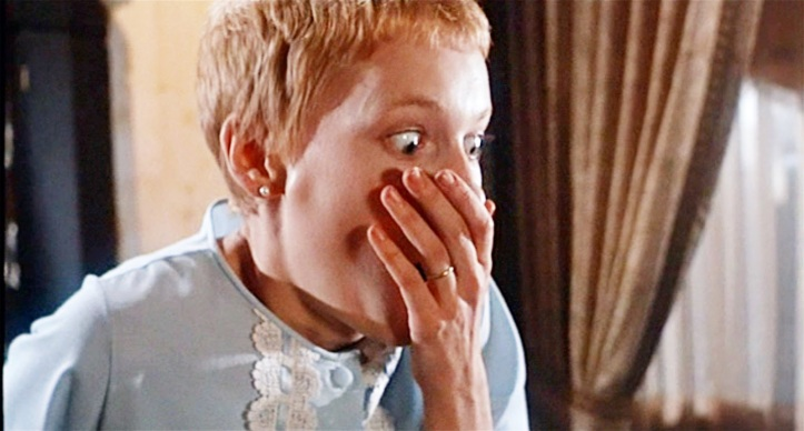 "Cena de ""O Bebê de Rosamary"", que rendeu a Roman Polanski o Oscar de roteiro"