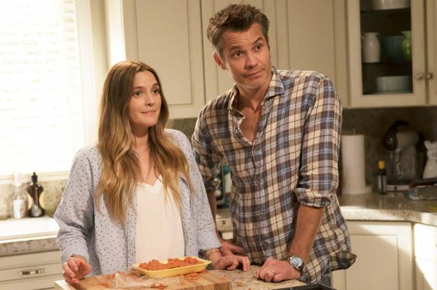 "Sheila e Joel, o casal que protagoniza a série ""Santa Clarita Diet"""